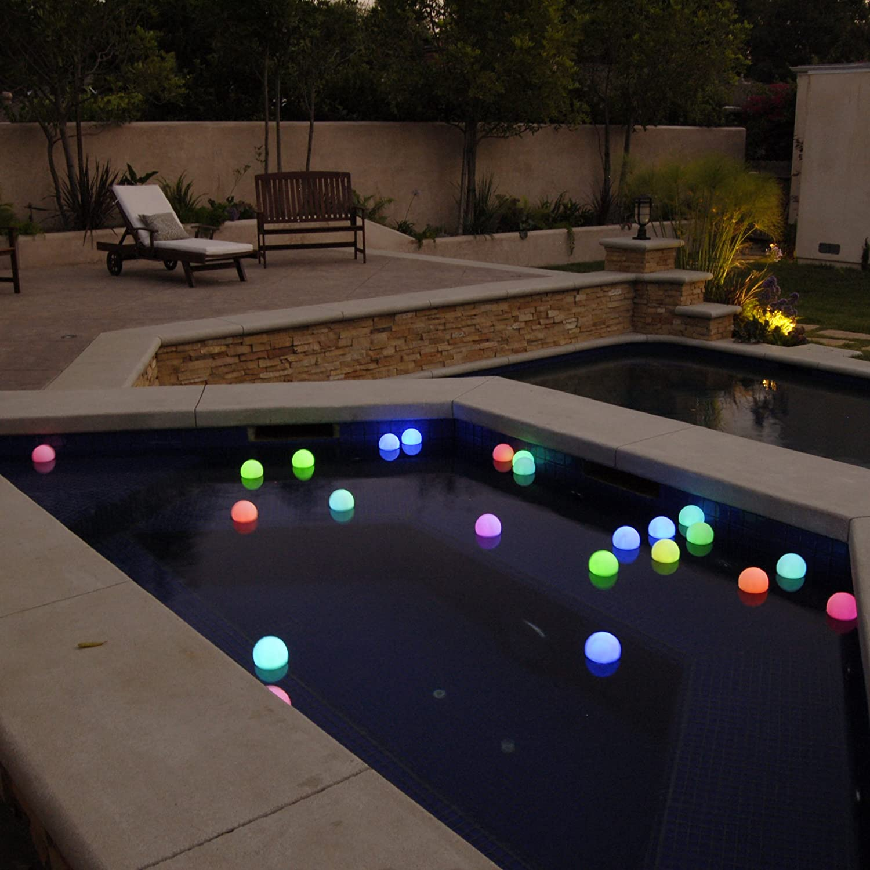 Amazon.com: Mood Light Garden Deco Ball (Light Up Orb): Health U0026 Personal  Care
