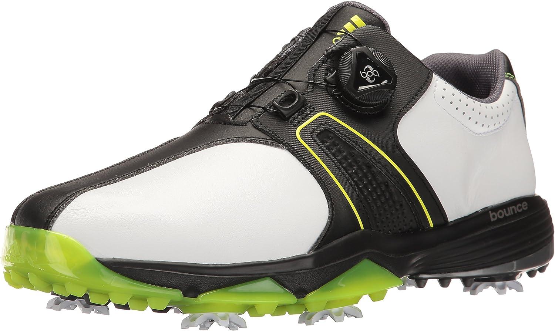 Mojado Perspicaz Renacimiento  adidas Golf Men's 360 Traxion Boa WD Shoes | Golf - Amazon.com