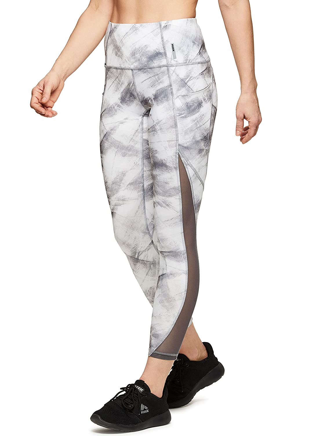 e7a6aa5c75b30 Amazon.com: RBX Active Women's Printed Running Workout Yoga Leggings:  Clothing