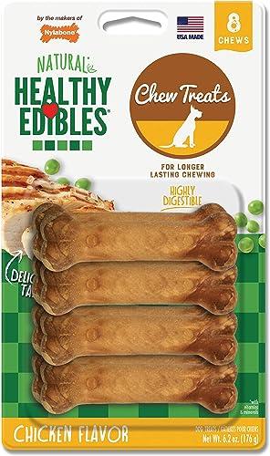 Nylabone Healthy Edibles Chicken Flavored Dog Treats