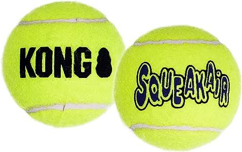 Kong AirDog Squeaker Balls XSmall Dog Toy, Yellow