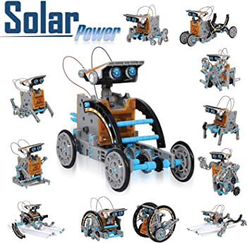 CIRO 12-in-1 Solar Robot Creation Kit