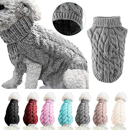 Small Pet Stripy Sweater Crochet Pattern - Ideal Me | 450x445