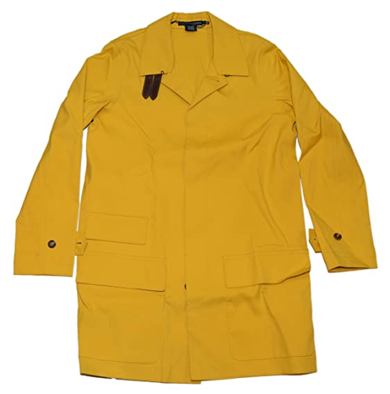 Polo Ralph Lauren Womens Italian Rain Coat Parka Jacket Italy ...