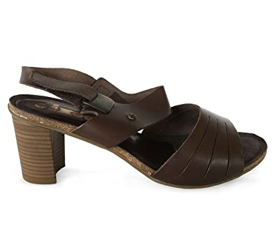 56a92a62f99 IXOO Sandales Marron  Amazon.fr  Chaussures et Sacs