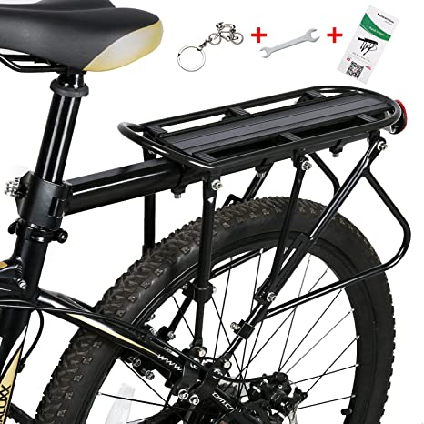 WESTGIRL - Portaequipajes trasero ajustable para bicicleta, con ...