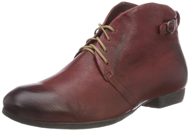 Think! Ebbs_383130, Zapatos de Cordones Oxford para Mujer 36 EU|Rojo (37 Vino/Kombi)