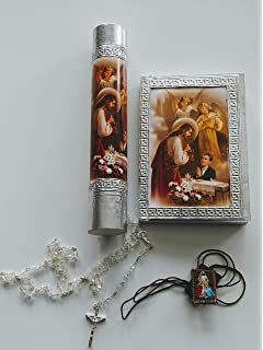 Candle for Boy for First Communion in English