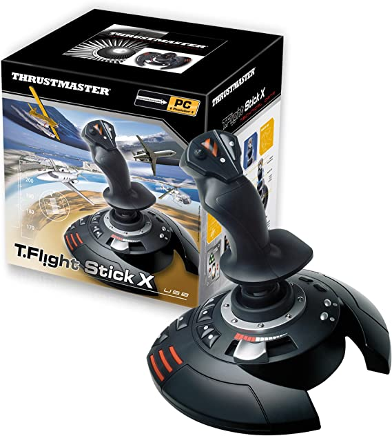 Thrustmaster T.FLIGHT STICK X - Joystick - PC / PS3: Thrustmaster: Amazon.es: Electrónica