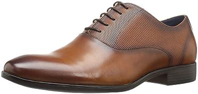 b52666a5aea Steve Madden Men s Esos Oxford Tan Leather 8.5 ...