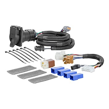 CURT 56357 Vehicle-Side Custom RV Blade 7-Pin Trailer Wiring Harness on