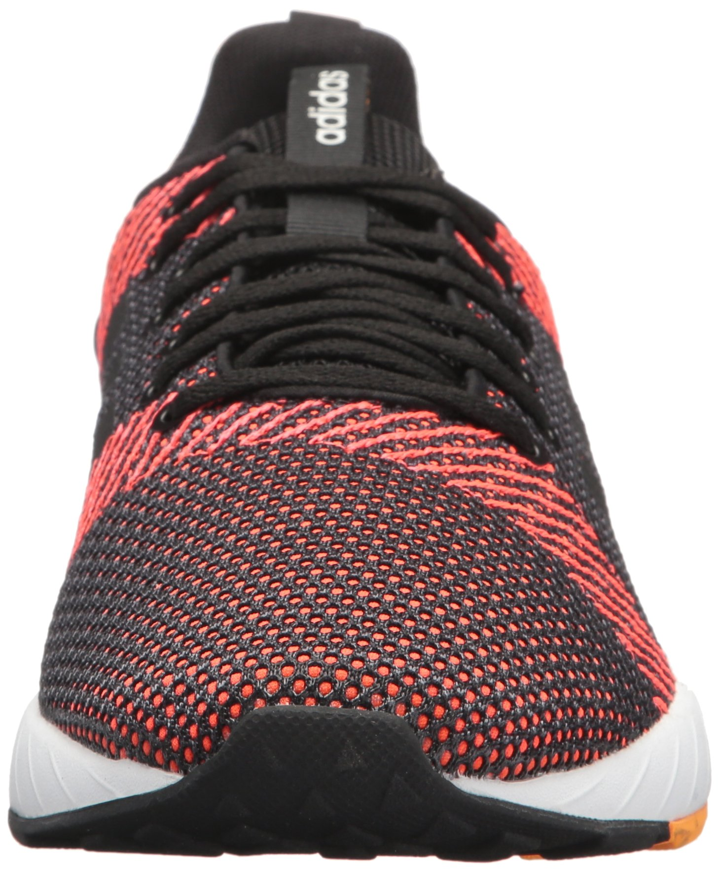 adidas Men's Questar BYD Running Shoe Black/White/Solar red 6.5 M US by adidas (Image #4)
