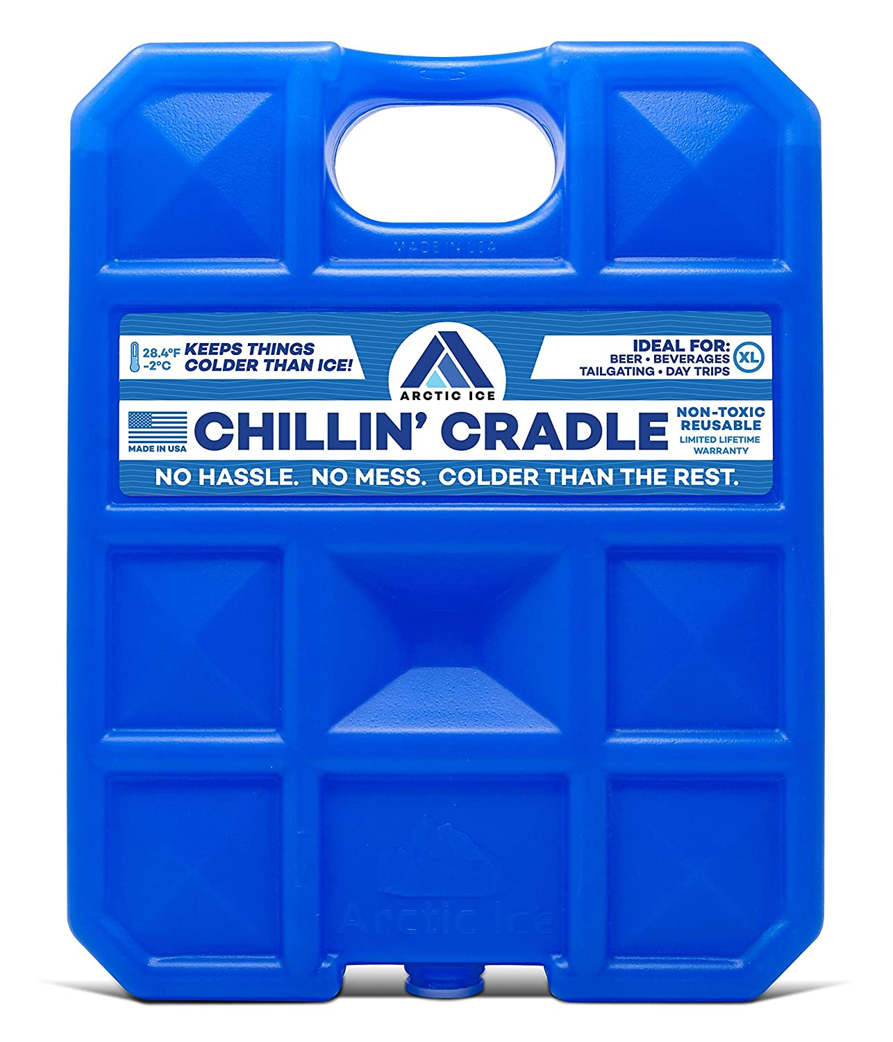 Arctic Ice Chillin Brew Series Reusable Cooler Pack