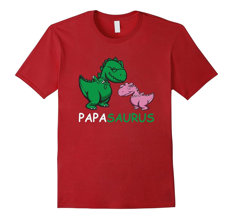 30c42a2c Father's Day Papasaurus Dabbing T-Rex Dad Dinosaur T-Shirt-Teevkd ...