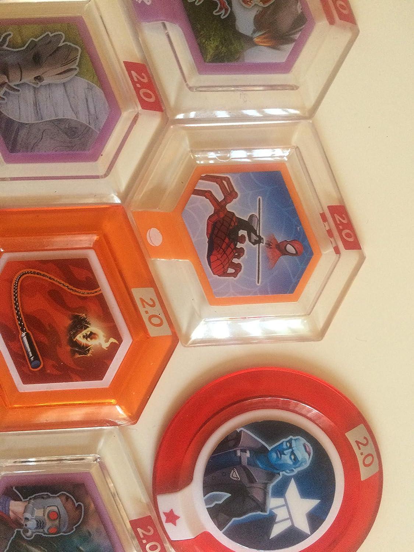 Disney Infinity 2.0 Marvel Power Disc Bundle - Spiderman - Hulk ...