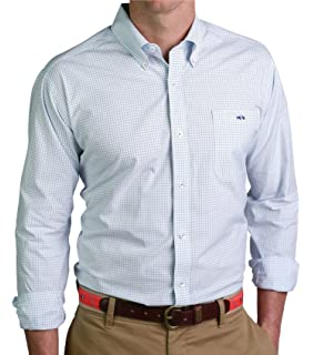 6688e6ad999 Fish Hippie helton Gingham Button Down Shirt at Amazon Men s ...