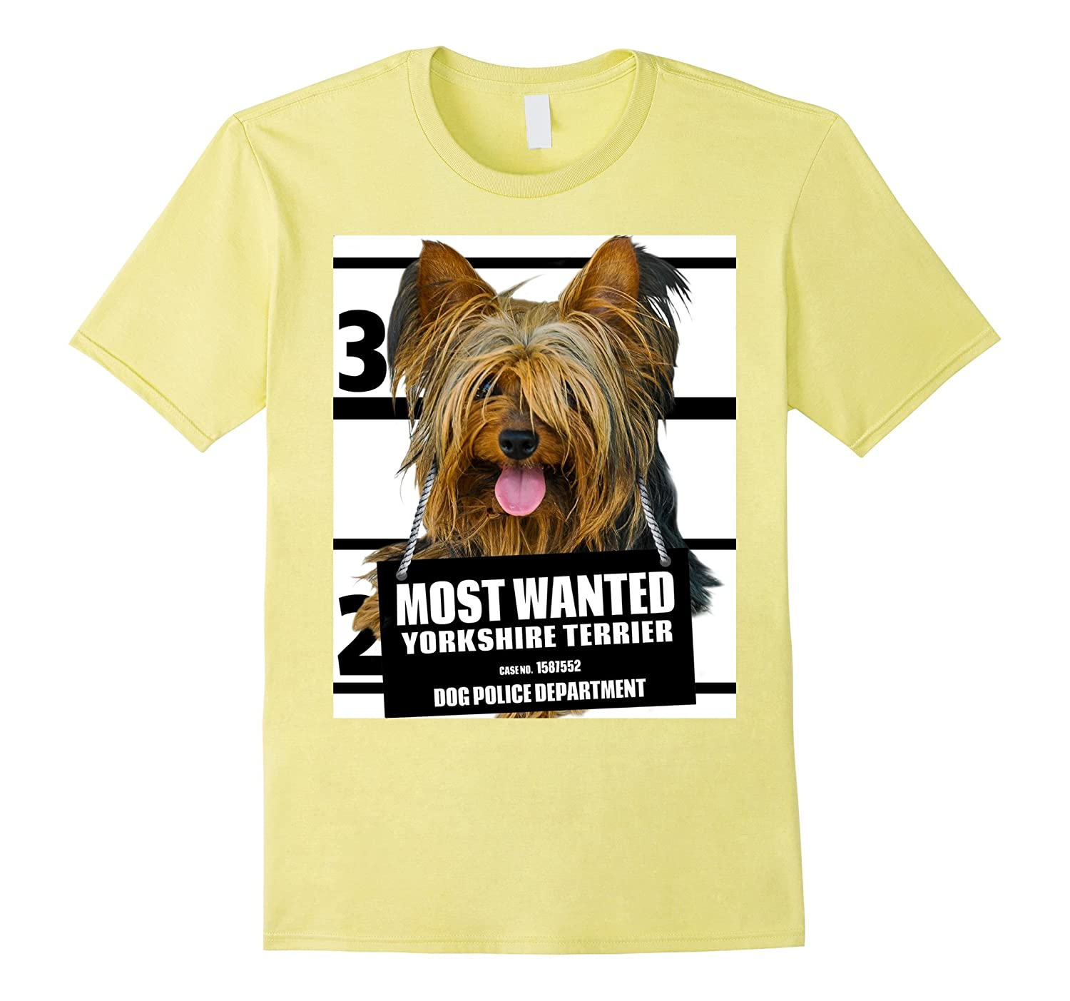 Most Wanted Yorkshire Terrier T-shirt - Dog Tee Shirts - 28-Vaci