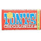 Tony's Chocolonely Milk Chocolate Bar 6 oz - Pack of 3 - Slave-Free Chocolate