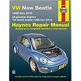 Volkswagen VW New Beetle 1.8 & 2.0L petrol (1998-2010) & 1.9L TDI diesel (1998-2