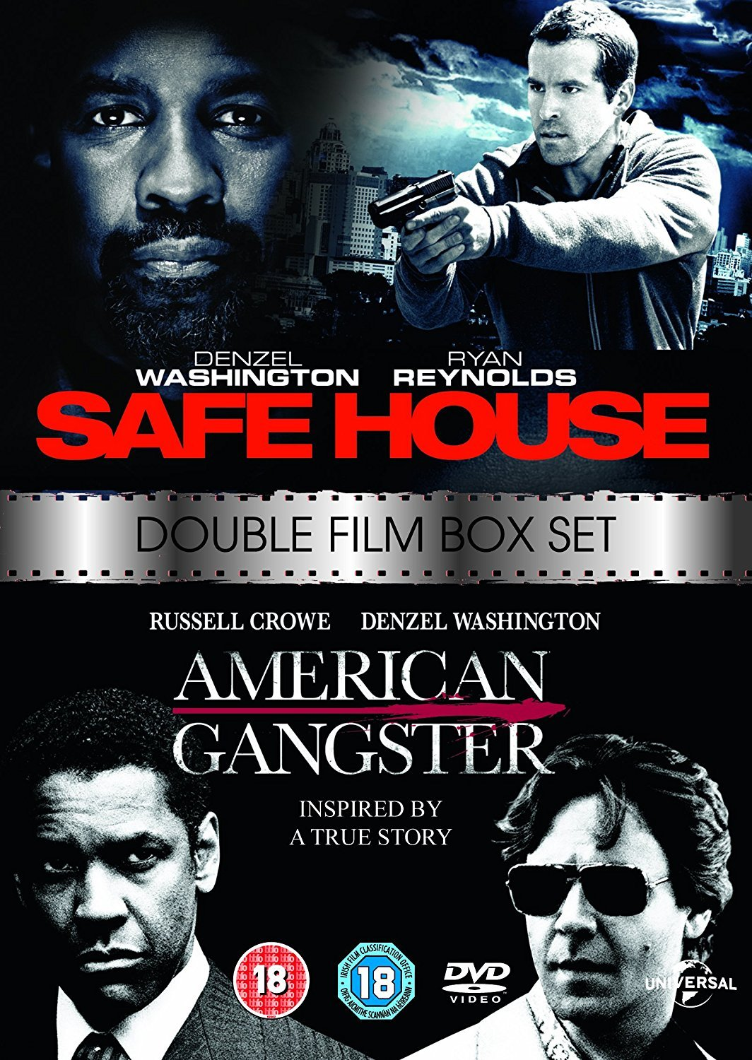 Amazon Com Safe House 2012 American Gangster 2007 Double Pack Dvd Movies Tv