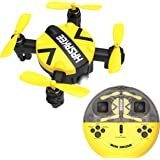 K5 Mini Nano Drone with Altitude Hold and Headless Mode RC Quadcopter with 3D Flips and High Speed Spin Function…