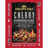 Griller's Gold Premium BBQ Pellets - Maple, Cherry, Apple Fruitwood Blend, 20 lb Bag, All Natural Barbeque Smoker Pellets