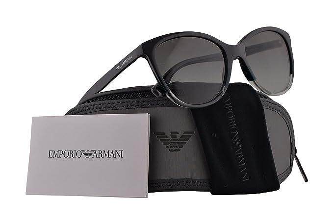 Emporio Armani EA4110 gafas de sol w / 55mm gris del ...