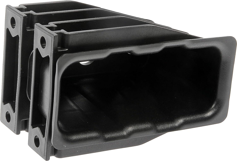 Dorman 242-6005 Front Heavy Duty Bumper Receptacle for Select Freightliner Models Black