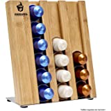 Eco-Friendly Bamboo Nespresso Pod Holder for 18 Nespresso Capsules by Podzania, an Ideal Coffee Storage Container for Coffee Pods and a for Your Coffee Table