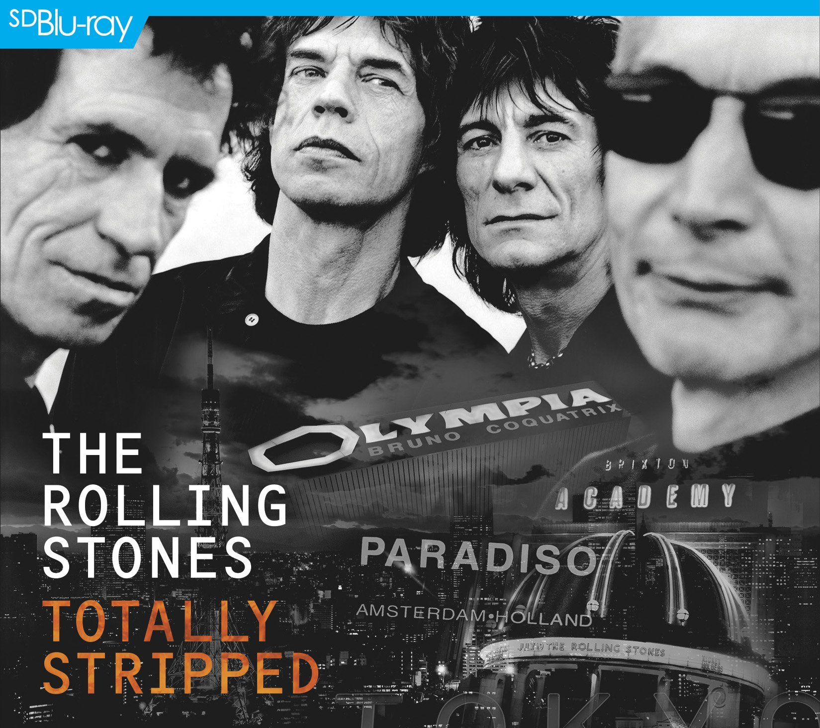 Blu-ray : The Rolling Stones - Totally Stripped (With CD, 2 Disc)