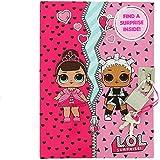 L.O.L. SURPRISE!! A6 Girls Secret Diary Lockable Pink Diary for Girl Children Journal Agenda for Kids