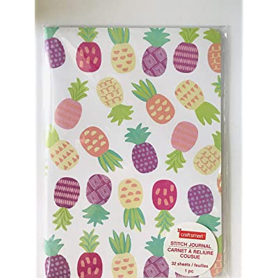 Craftsmart Cactus-Pineapple Journal (Pineapple): Toys & Games