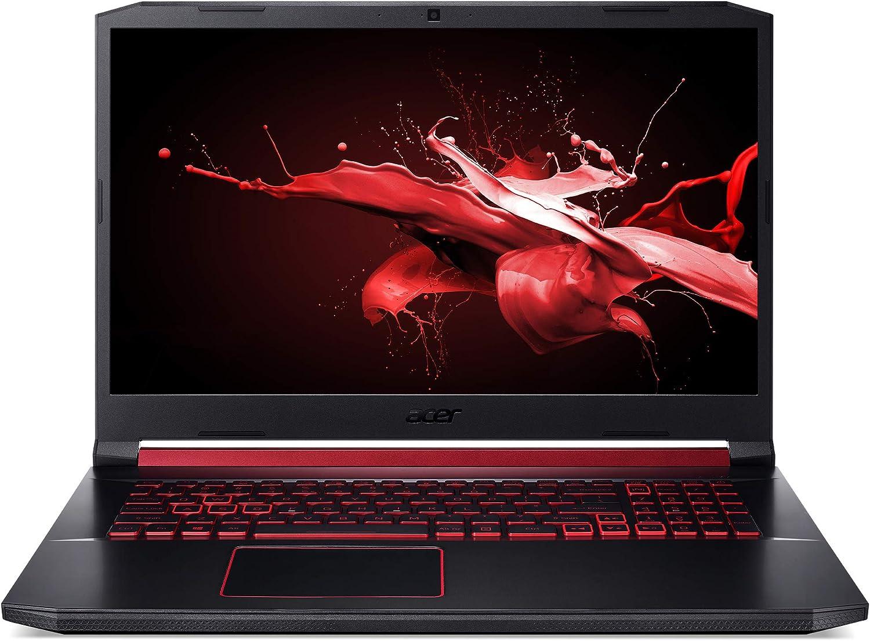 Amazon Com Acer Nitro 5 17 3 Laptop Intel I5 9300h 2 4ghz 8gb Ram 512gb Ssd Win 10 Home Computers Accessories