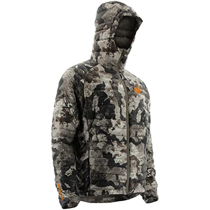 4ed56d0777c71 Amazon.com: Nomad Men's Duo-Down Camo Hooded Hunting Jacket N4000049 ...