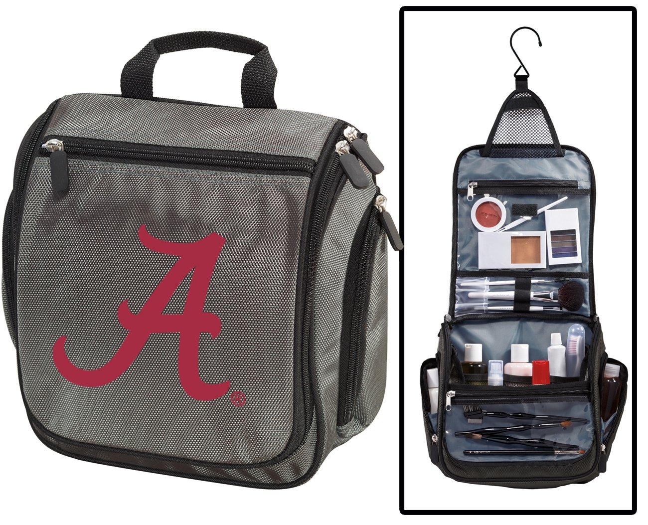 University of Alabama Toiletry Bags or Mens Shaving Kits HANGABLE Travel Bag