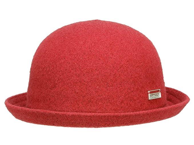 Kangol - Bombín - para hombre Rojo rojo  Amazon.es  Ropa y accesorios 658697bcdc1