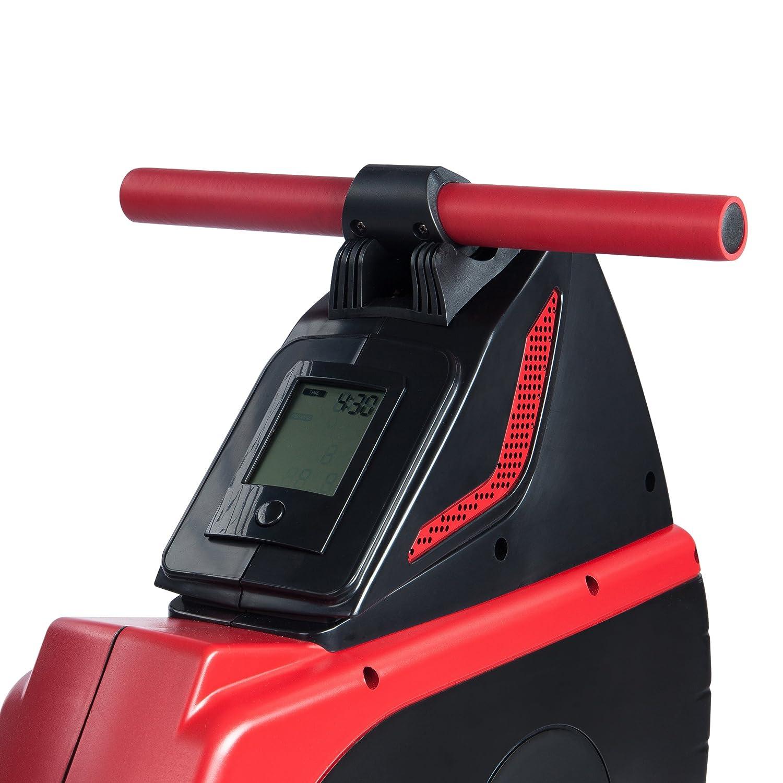 Ultrasport Drafter 700 Aparato de Remo 2 en 1, máquina de Remo para la práctica del Remo y el Entrenamiento de la Parte Superior del Cuerpo, con Consola y 8 ...
