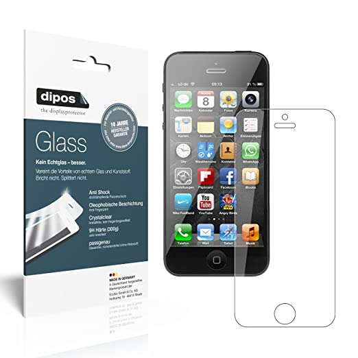 187 opinioni per 2-Pack Dipos Apple iPhone 5 / 5S / 5C /