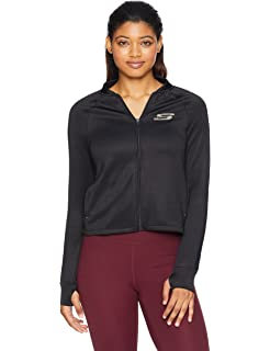 Hoodie Long Sleeve Zipped Stretch