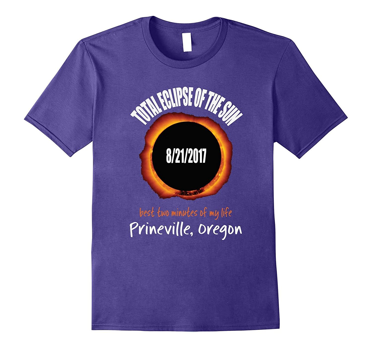 2017 Eclipse Souvenir Prineville, Oregon OR T Shirt