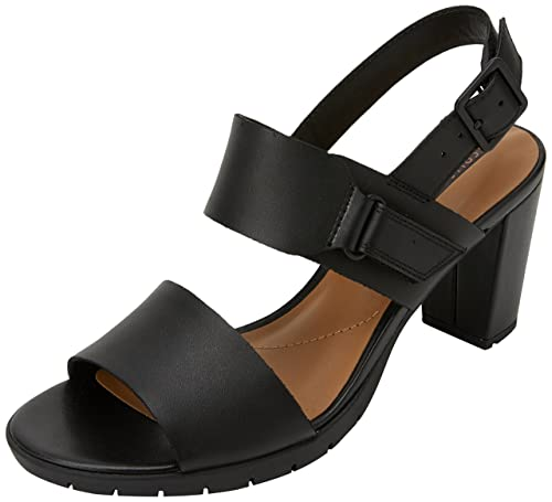 2a494013f6bc Clarks Women s s Kurtley Shine Sling Back Sandals  Amazon.co.uk ...