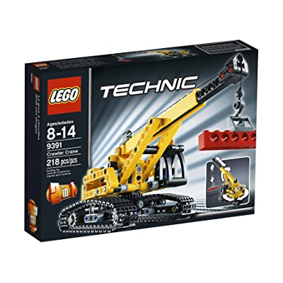 LEGO Technic Tracked Crane 9391: Toys & Games
