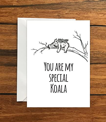 You are my special koala blank greeting card a6 amazon handmade you are my special koala blank greeting card a6 m4hsunfo