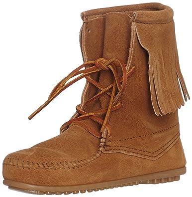 detailed look 50406 a0b24 Minnetonka Damen Tramper Ankle Hi Boot Mokassin stiefel, braun, 34 EU