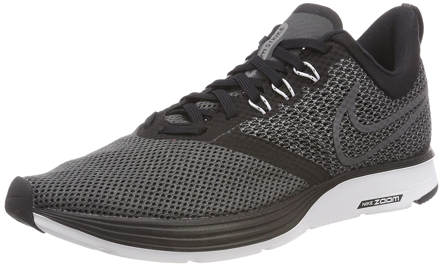 NIKE Men Zoom Strike Athletic/Running Shoes B06XV1WQ49 9 M US|Black/White-dark Grey