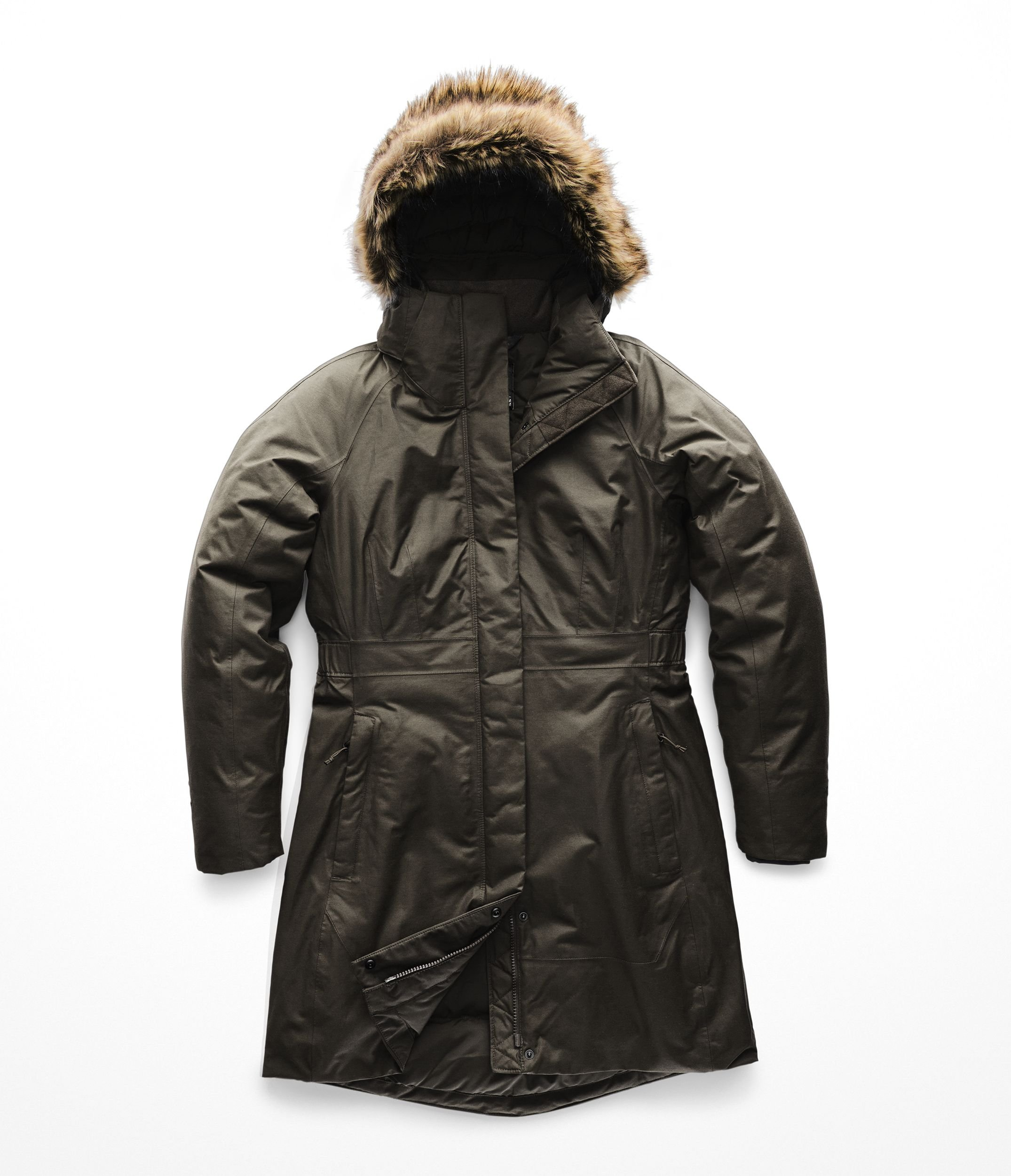 The North Face Women's Arctic Parka II - New Taupe Green - XL by The North Face