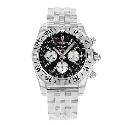 Breitling de hombre ab0420b9/BB56 analógico automático para hombre plateado reloj: Breitling: Amazon.es: Relojes