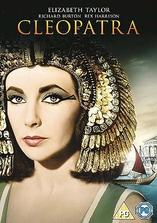 cleopatra dvd 1963 amazon co uk elizabeth taylor richard