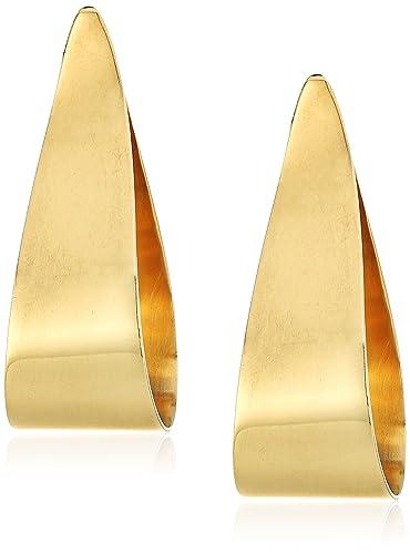 Soko Folded Teardrop Stud Earrings Wfp3H4VFA