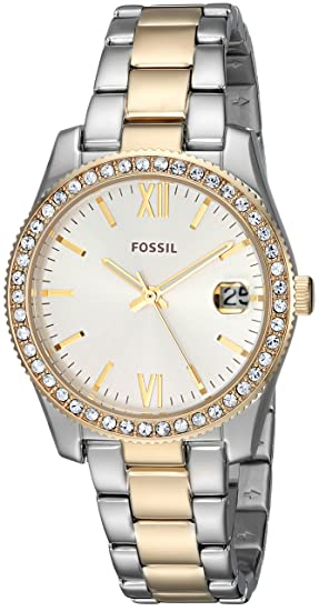 395012177445 Fossil ES4319 Reloj Análogo para Mujer